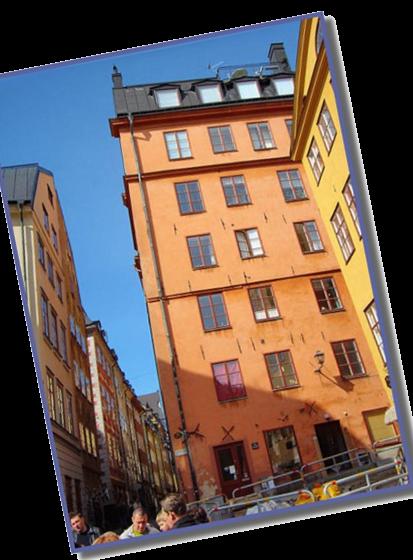 Домик Карлсона в Стокгольме