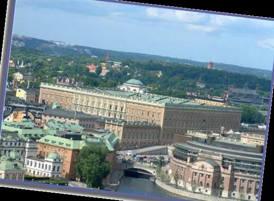 Королевский дворец в Швеции